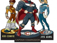 superhero-standees