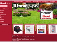 Rinnai Website Signage